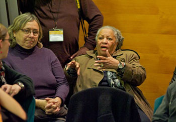 toni morrison black matters [by portia owusu] in her review of toni morrison's eighth novel, love, english writer hilary mantel asserts: when morrison writes at her best, you can feel the workings of history through her prosean accurate description, if ever there was one, for the novelist who is often described as the voice of america's conscience.