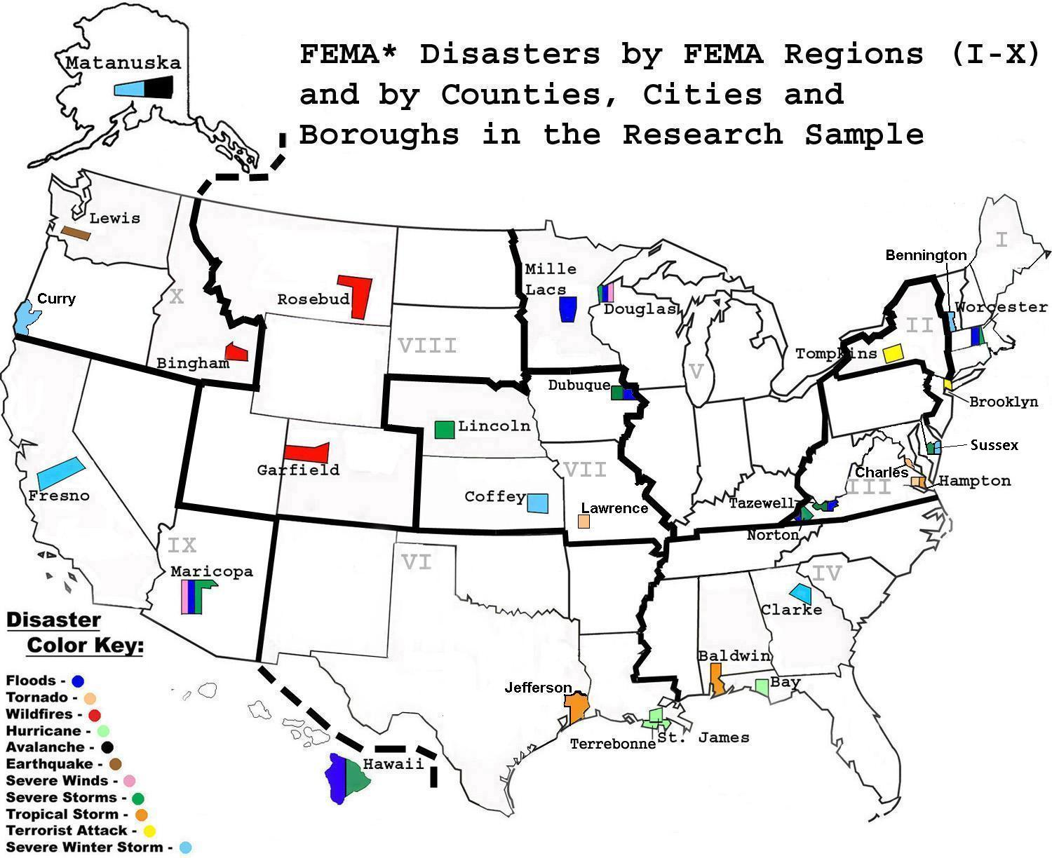 NOBODY LEFT BEHIND Disaster Preparedness For Persons With Mobility - Fema region map